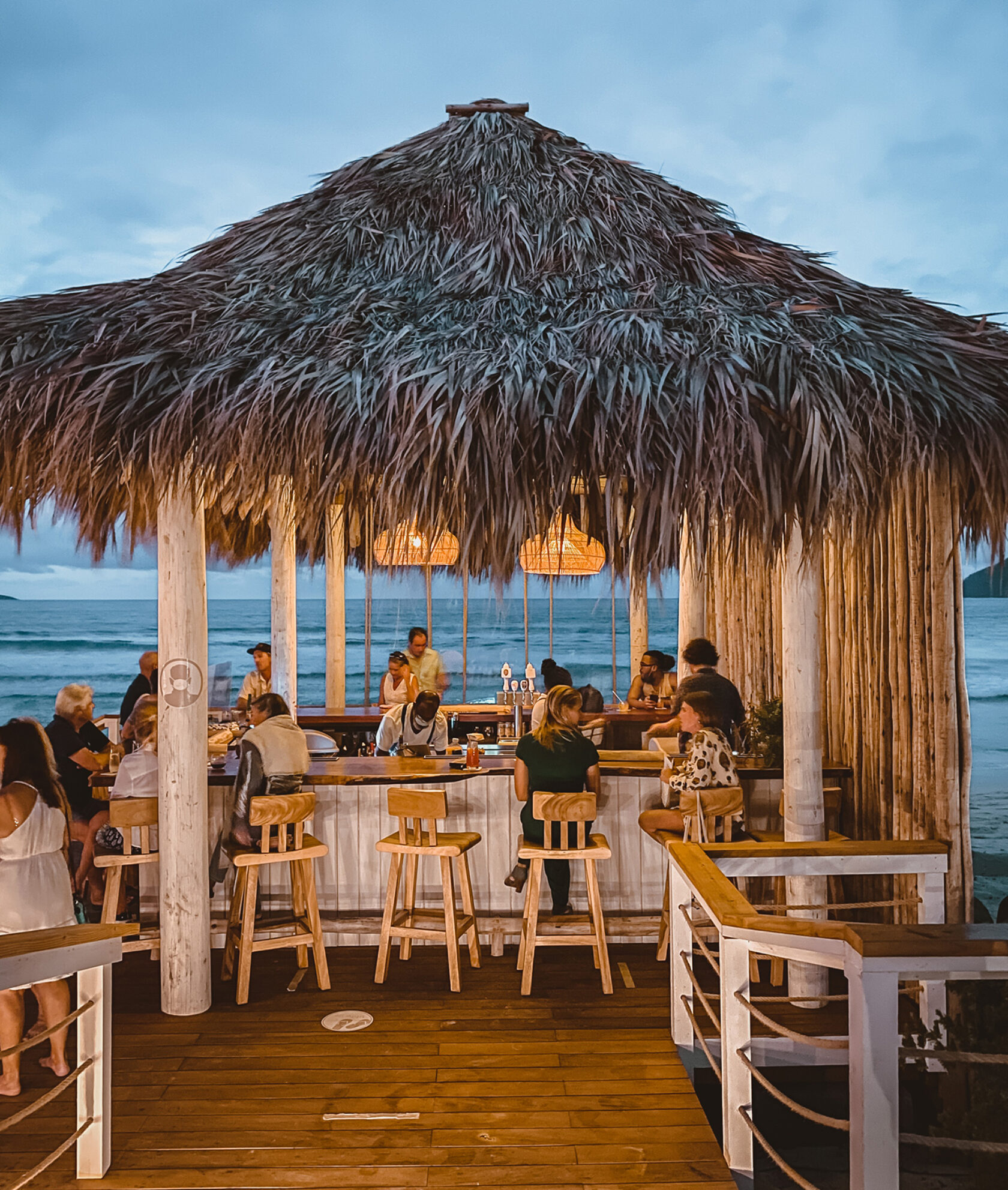 Johnny's Beach Bar at Long Bay Beach Resort